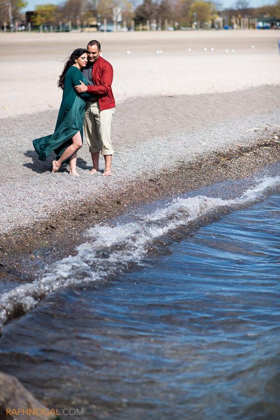 toronto beaches engagement photos-2