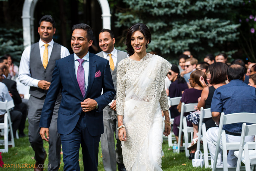 Backyard Ismaili Wedding: Yasmin & Jamil - Cambridge