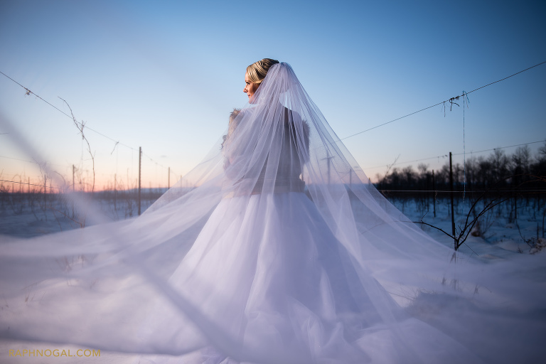Holland Marsh Winery Winter Wedding Jennifer Amp Leon