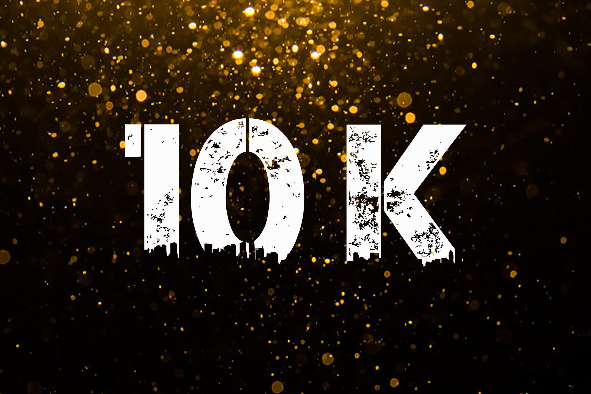 10000 followers on Instagram