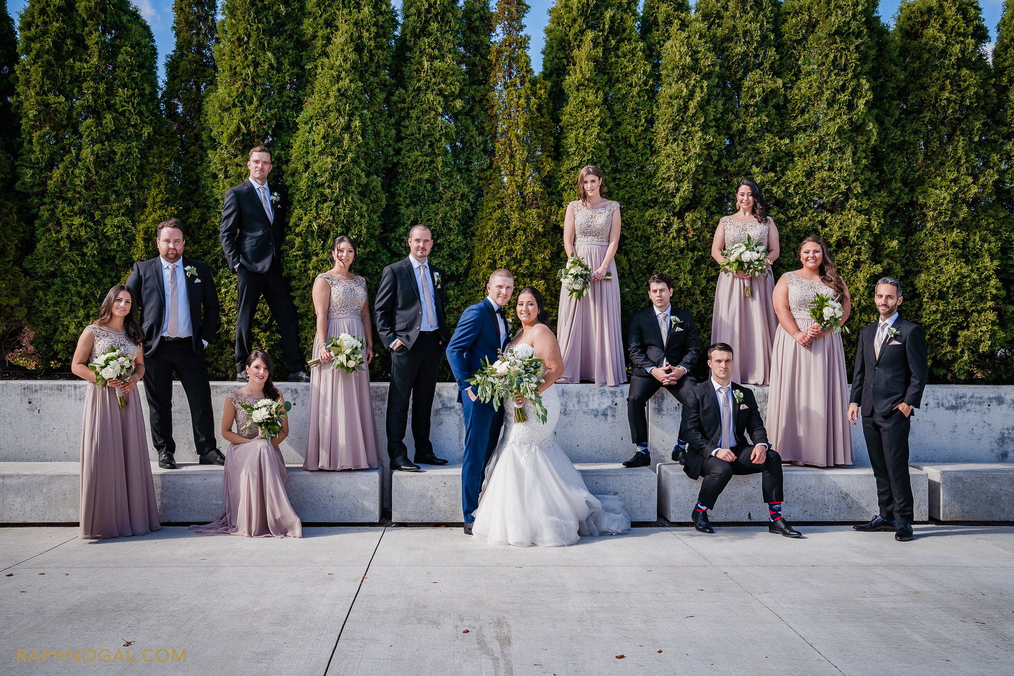 Wedding Party at Aga Khan