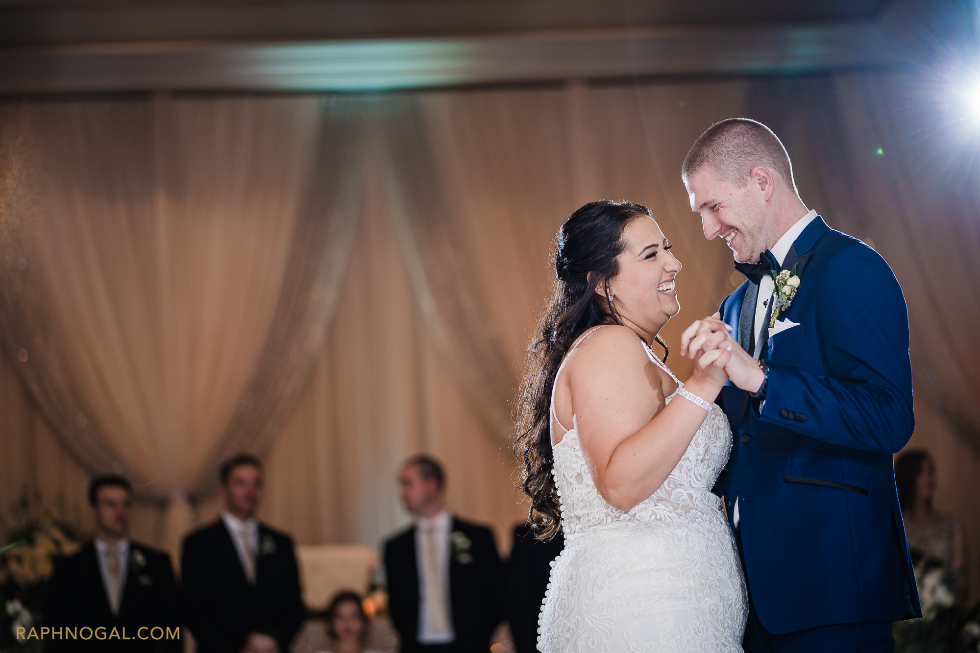 Bride and Groom first dance at Hazelton Manor