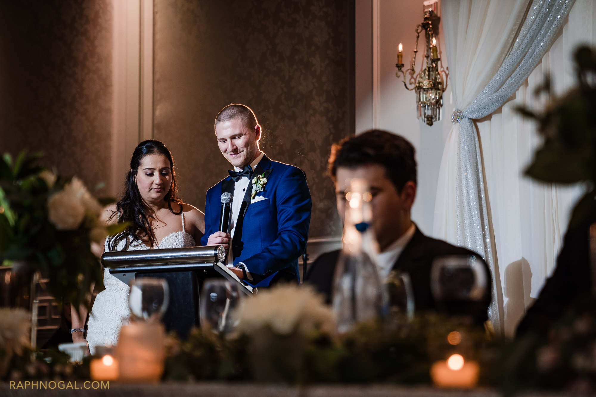Bride and Groom Speech at Hazelton Manor